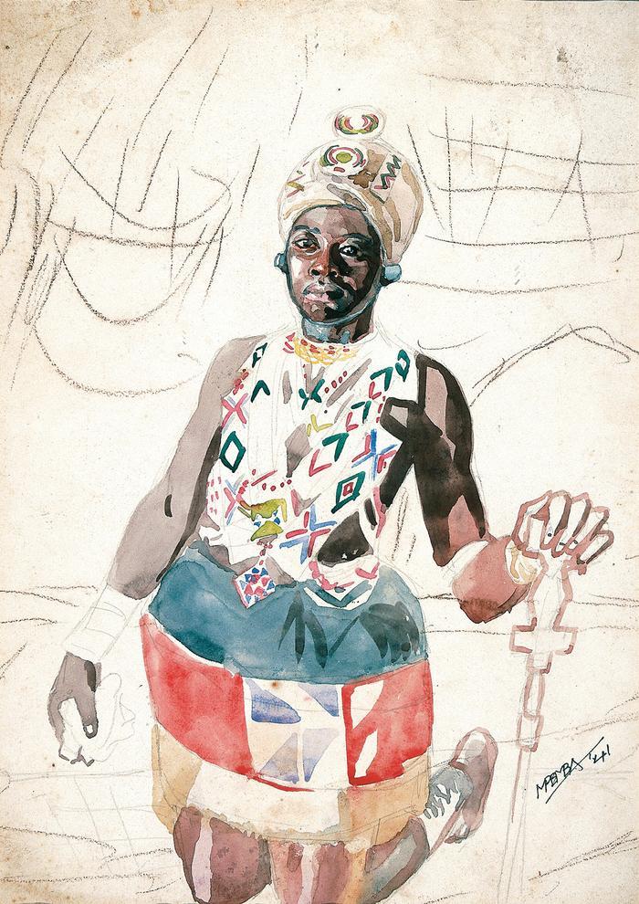 Zulu woman – unfinished symphony (1941)