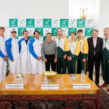 Thumbnail for PICTURES FROM THE DAVIS CUP TIE SOUTH AFRICA vs. SLOVENIA OFFICIAL DRAW