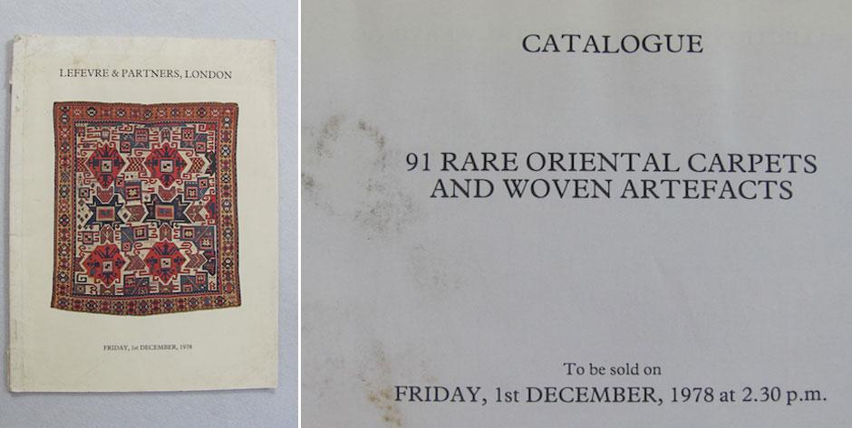 Auction catalogue , Lefevre & Partners , 15 Feb London 1978 • £4 / US$7 + postage