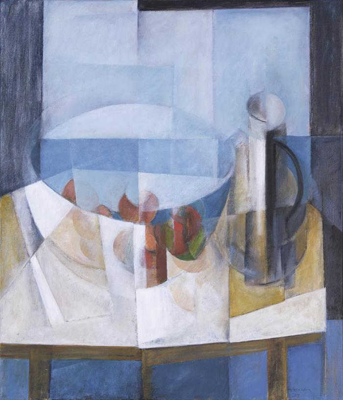 Still life with apples and jug - SOLD