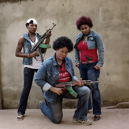 Chommy Choko Eli, Florence Owanta, Kelechi Anwuacha. Enugu, Nigeria, 2008