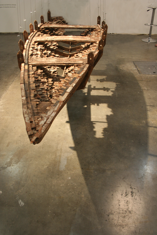 de(part) (2013). Installation view, Johburg Art Fair