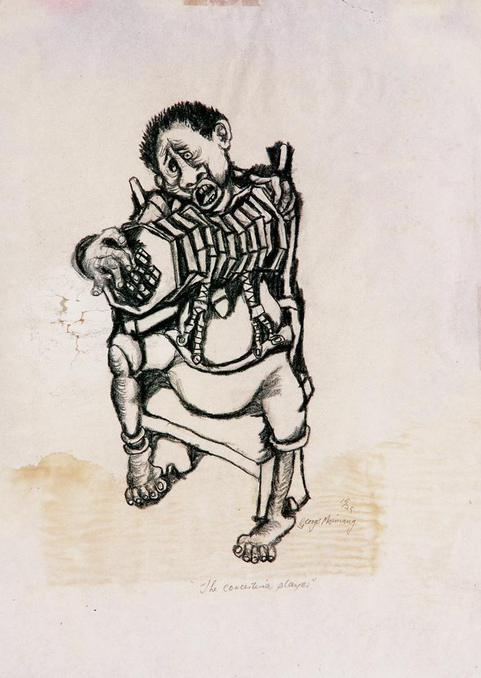 The concertina player