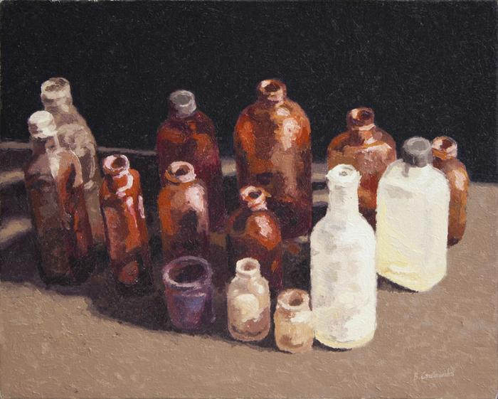 Bottles, Milnerton Market  - SOLD