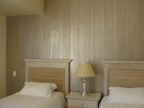 House Silva: dragged hand-painted faux wallpaper finish