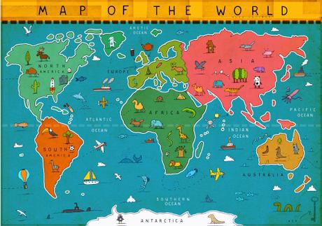 thumbnail for MAP OF THE WORLD