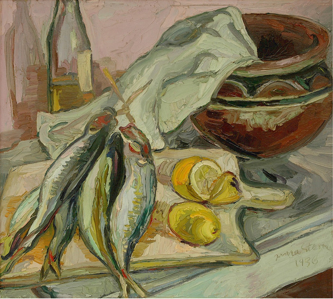 Still life with African pot - SOLD
