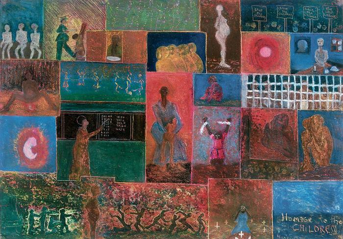 Homage to the children (1986-87)