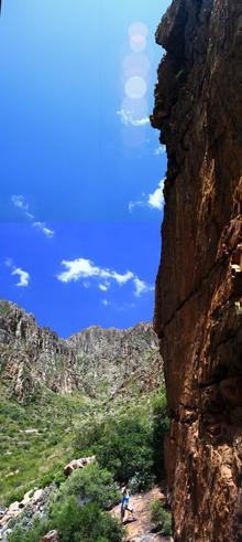Thumbnail for Rock climbing in Montagu