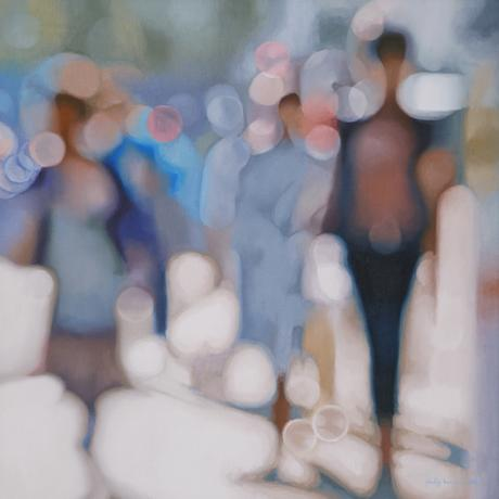 thumbnail for afternoon shimmer -  90cm x 90cm, oil on linen