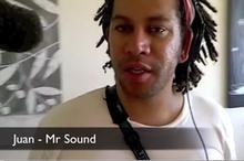 Juan Kindo - our sound guru