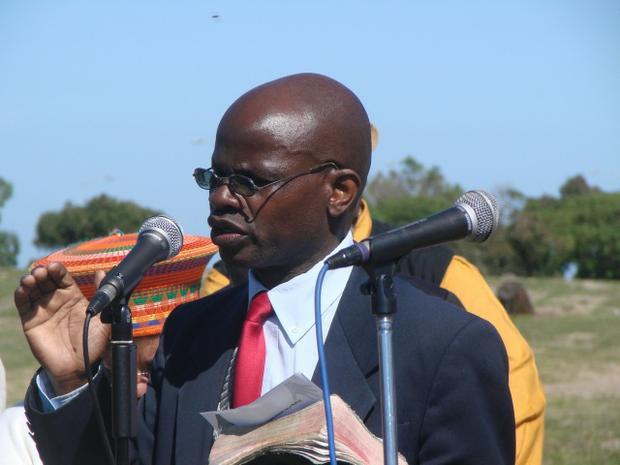 Geoffrey Dayawana, Elder from the Gospel Church of God