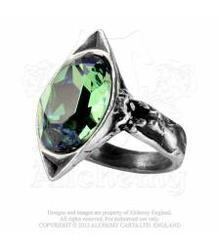 R120 Absinthe Fairy Spirit Crystal ring