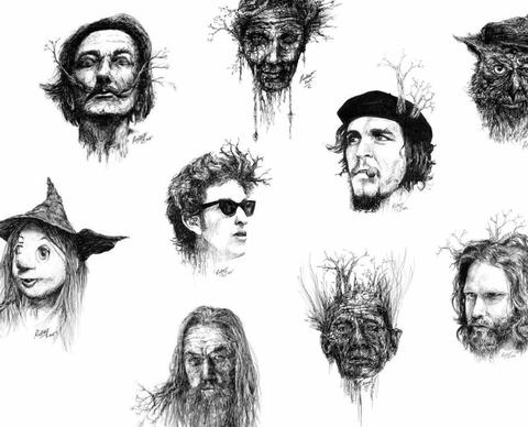 100 Nights of Sketch Art Exhibition - 100 Sketches in 100 Consecutive Nights