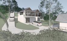 Thumbnail for House on a steep site, Seychelles