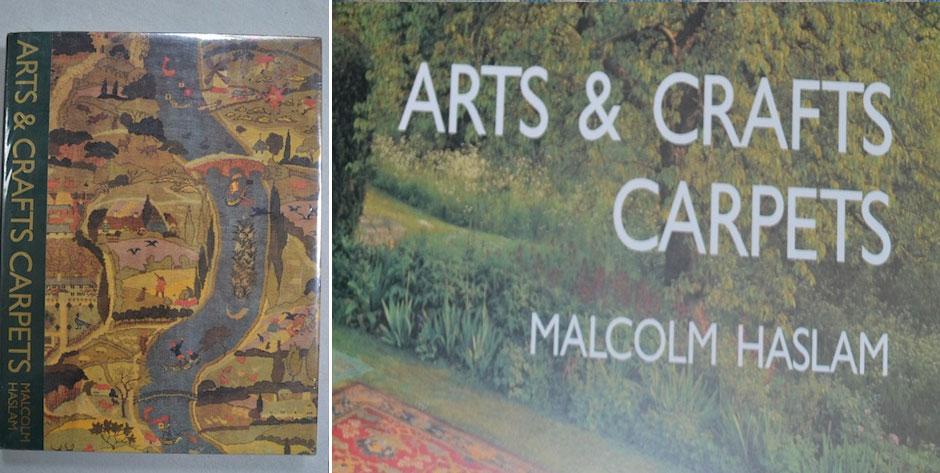 HASLAM , Malcom : Arts & Crafts Carpets , D. Black London 1990 - as new copy • £35 / US$50