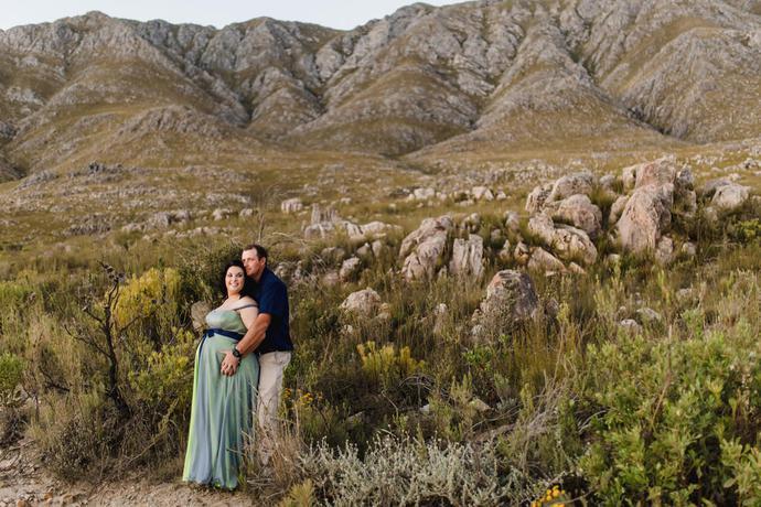 Swartberg Karoo Maternity Photographer in Oudtshoorn
