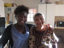 Thuli and Jewish Cooking expert Sarah Hesselman