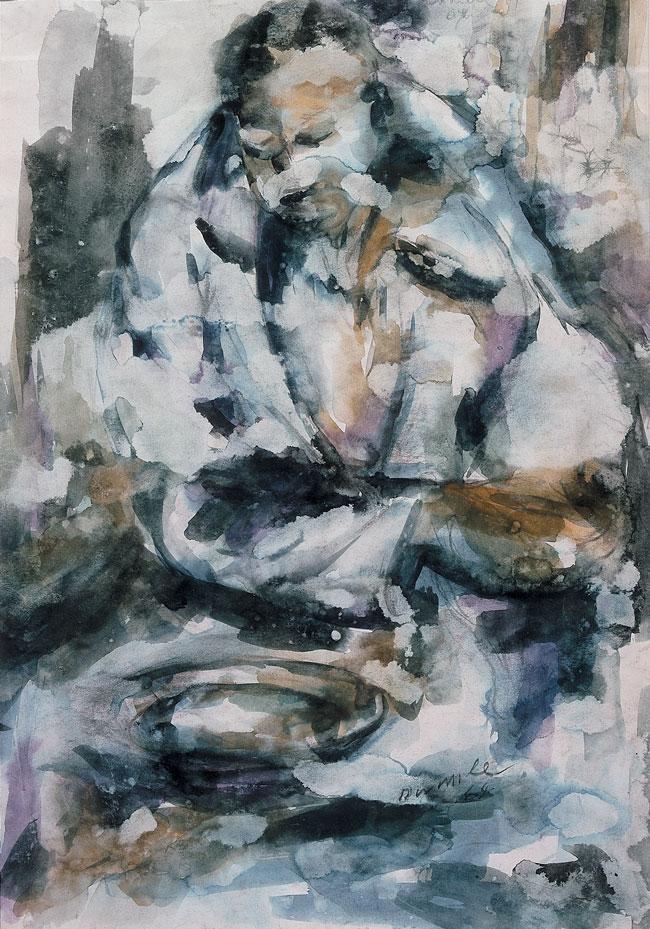 Untitled (Figure study, 1964)