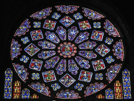 Notre Dame Paris North Rose Window