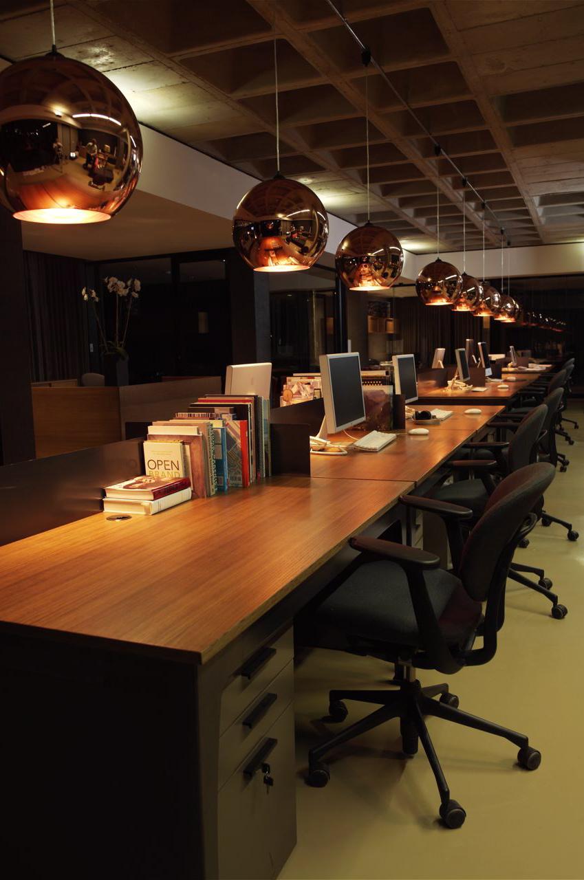 Make design furniture shopfitting for Creative agency interior design