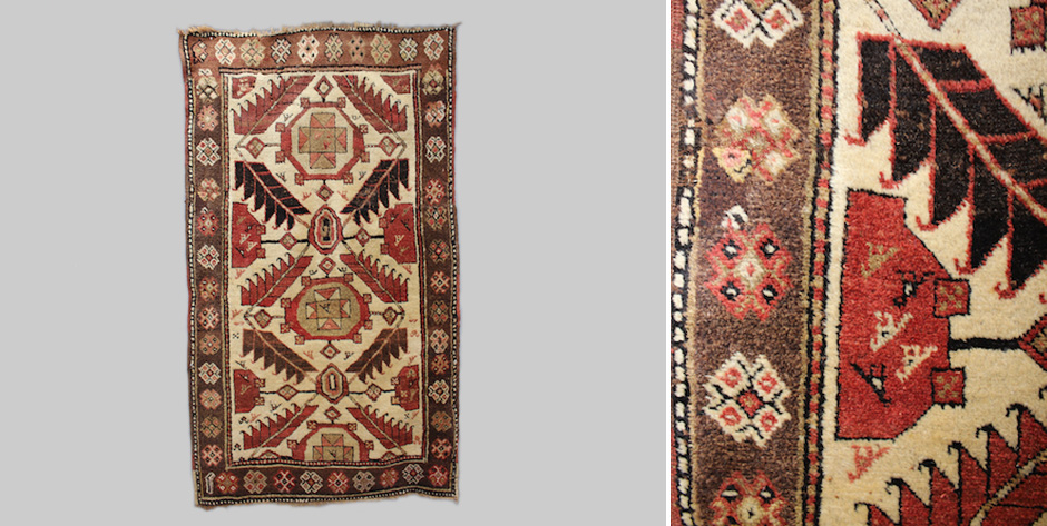 Kurdish rug design after NW Persian • late 19th cent