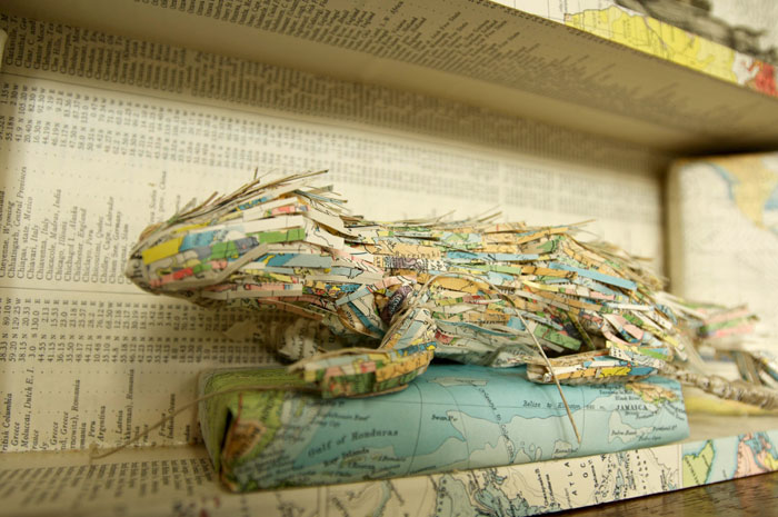 Anomaly Paper Map Cabinet (Detail)