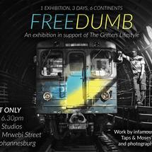 Thumbnail for 2014-10 | Freedumb: A Graffiti Exhibition @ Assemblage Studios, Johannesburg