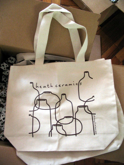 Heath Ceramics tote