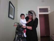 Director Jane Kennedy with Josephines grandson