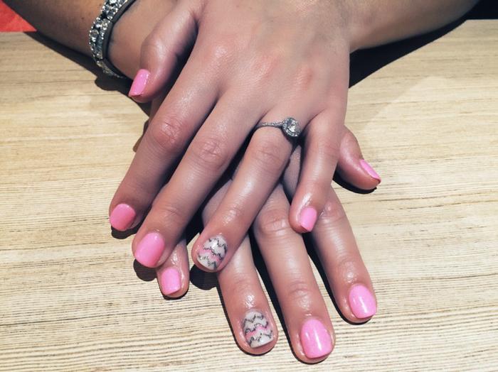 Biosculpture Gel Nails Nail Art Vivacious