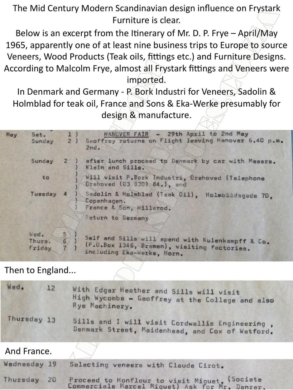 A Little History - Frystark Furniture page 3
