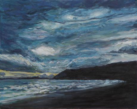 Grotto Beach / 2020 / 71cm x 89cm / Oil on Canvas