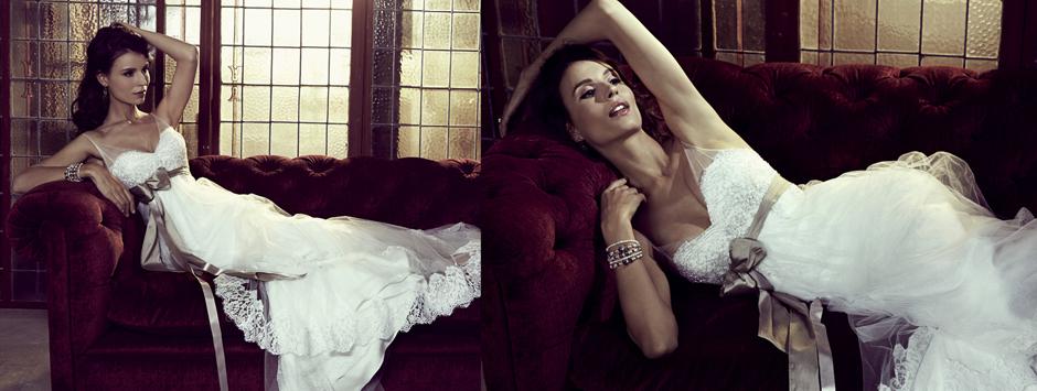 Elizabeth stockenstrom exclusive wedding dress design
