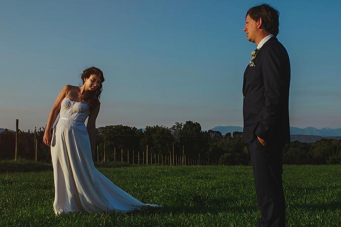 Outdoor Farm Wedding - Leon & Venoesjka