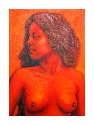 Anet Louw    Eternal Flame    Oil on canvas    30 X 21    R1150
