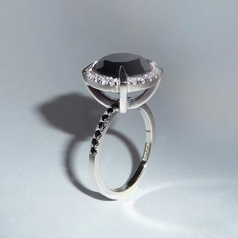 thumbnail for Black Diamond Gallant Ring