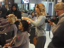 An appointment with salon owner Manovie Isaacs at The Worx Hair Salon in Claremont, Cape Town