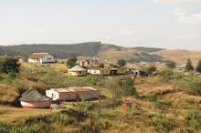 Gethwana's home village Mafakatini in Kwazulu Natal