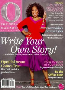 Thumbnail for O Magazine - Mar 2012