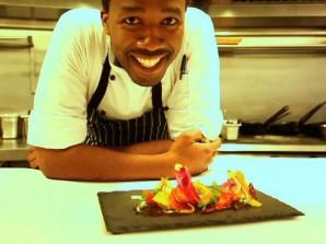 africa on a plate chef lentswe bhengu kai shun south africa. Black Bedroom Furniture Sets. Home Design Ideas