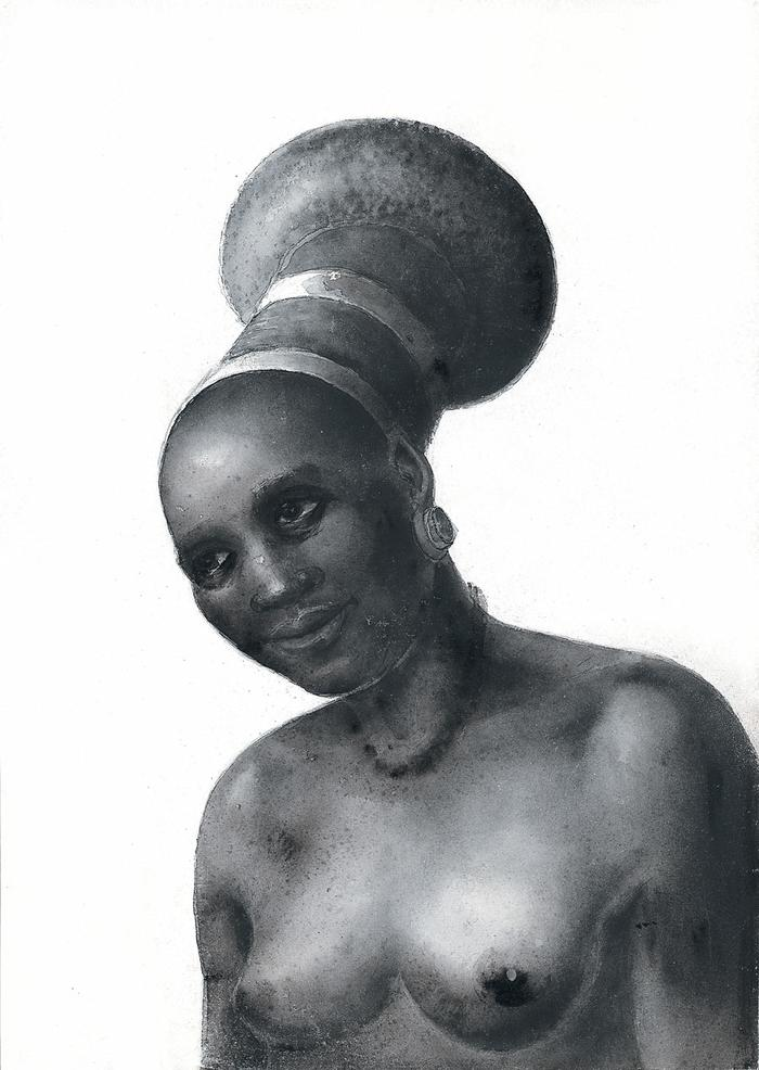 Portrait of a Zulu woman