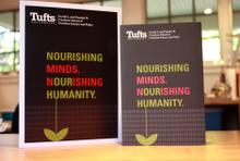 Tufts Friedman School of Nutrition's new viewbook and companion brochure