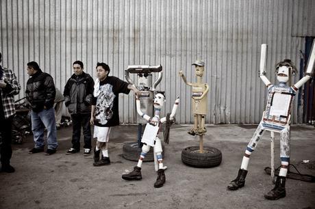 Mufflermen sculpture submissions