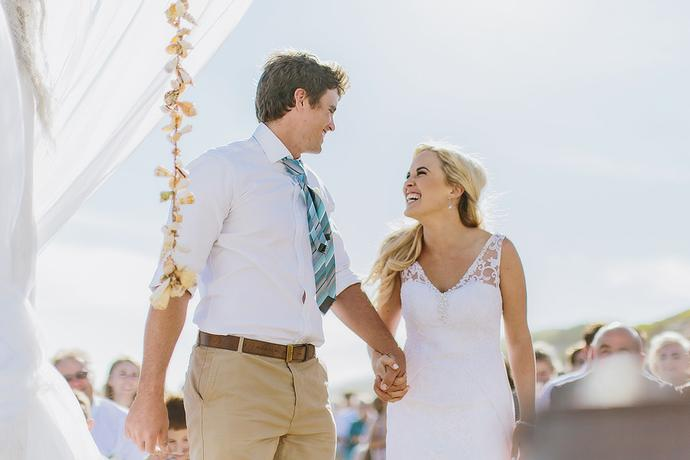 Summer Beach Wedding - Jan & Magdel