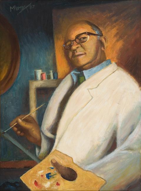 George Pemba: Self-portrait - SOLD