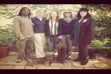 Jabu Msomi, Karen, Izette, Alix & Lisa