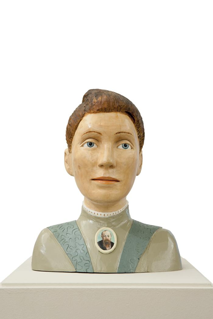 Bust of Tibbie Steyn