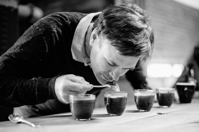 Coffee Magazine Editorial Shoot