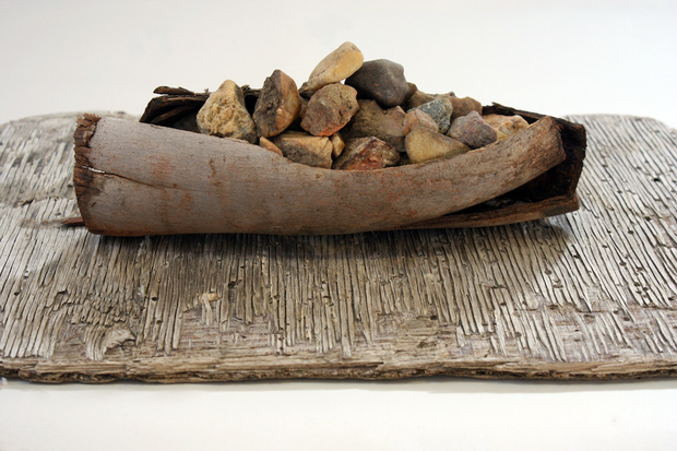 Maquette for 'Counting stones'